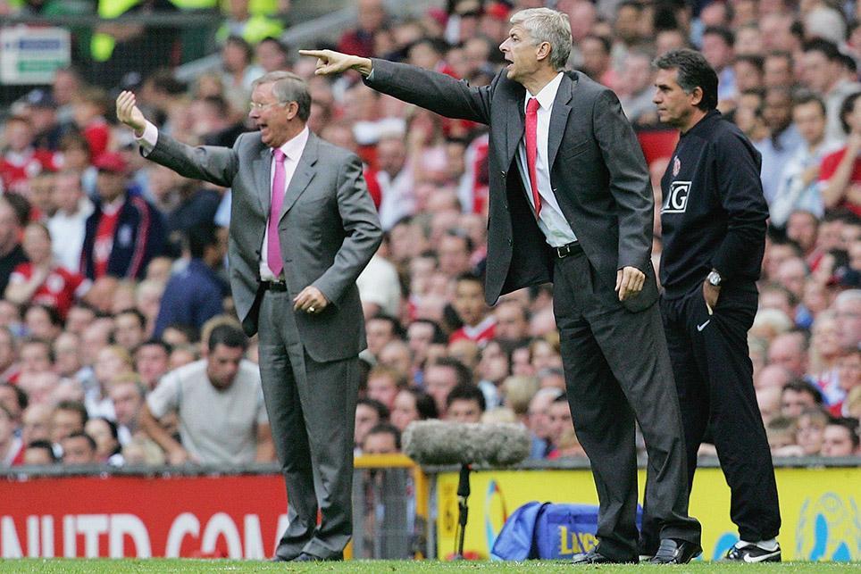 Sir Alex Ferguson and Arsene Wenger