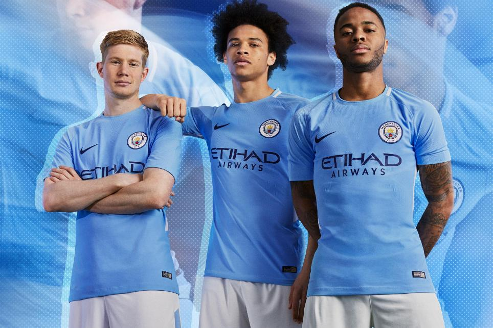 sports shoes c1154 ff881 Manchester City release new home kit
