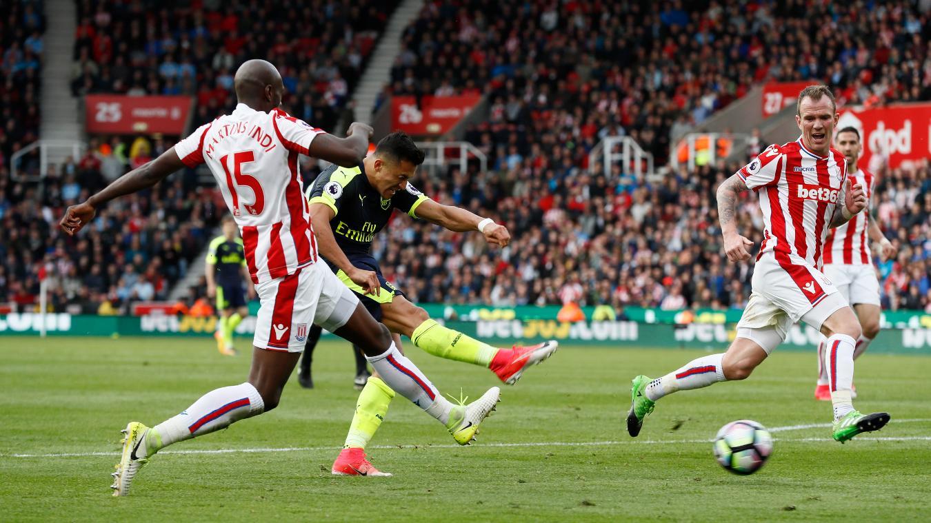 Matchweek 37: Stoke City 1-4 Arsenal