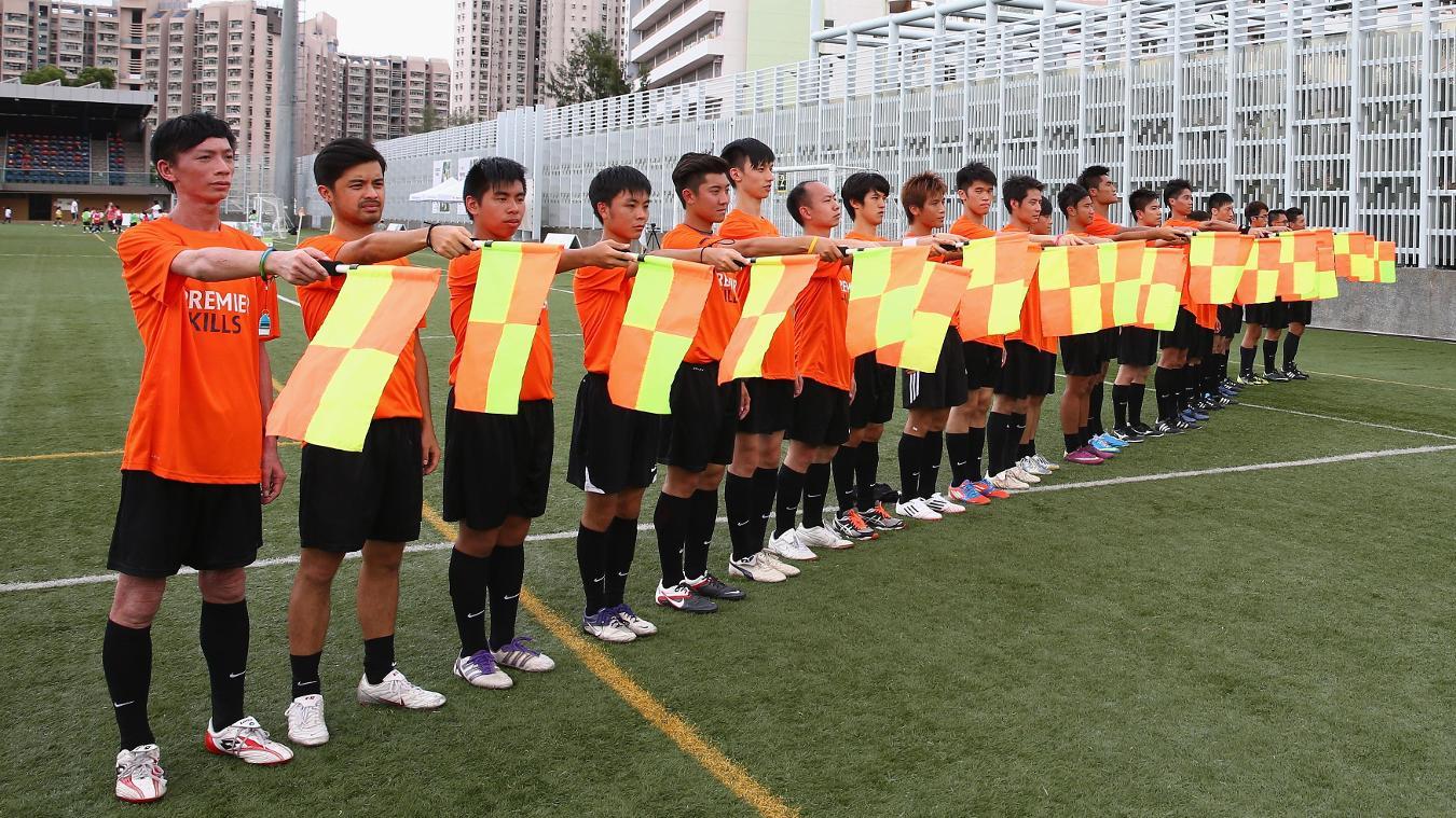 Hong Kong 2013 flags assistant refs