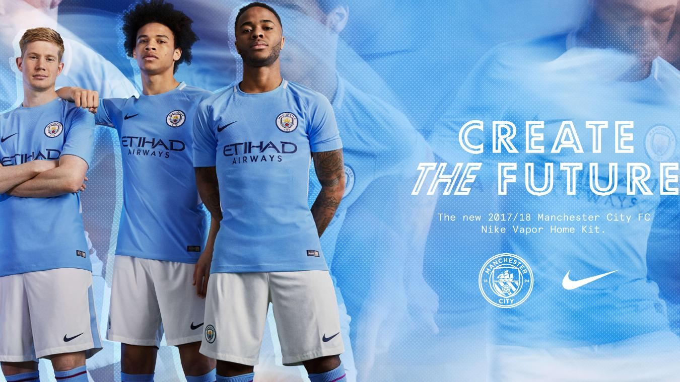 2017/18 Premier League kits: Man City home