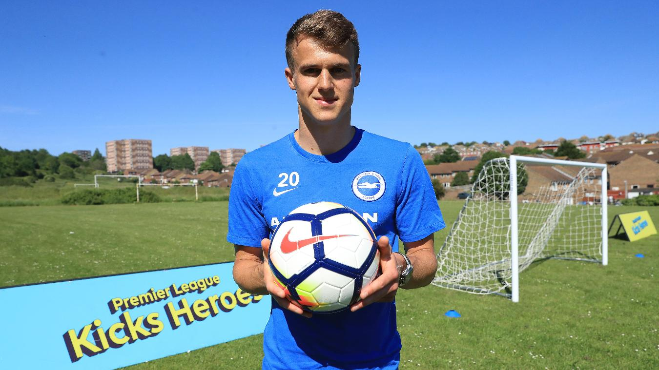 PL Kicks, Nike Ordem V, Brighton and Hove Albion winger Solly March