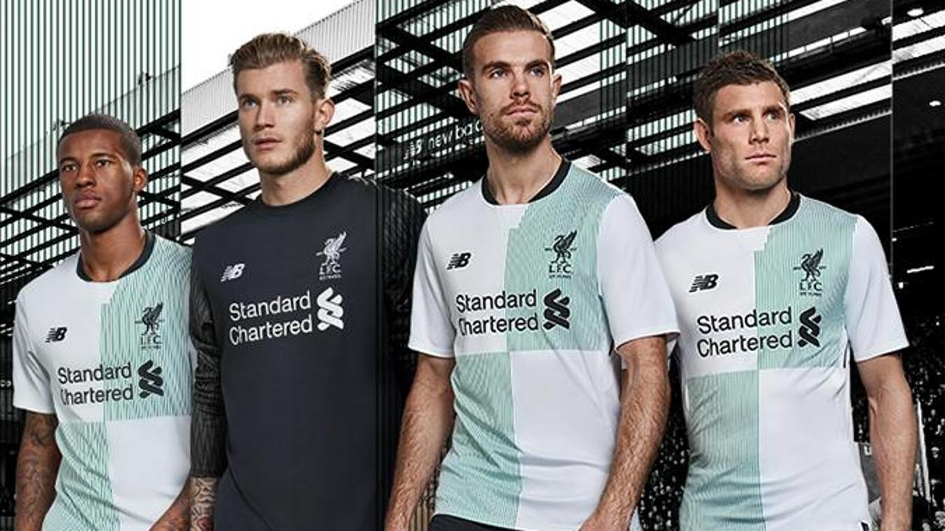 2017/18 Premier League kits: Liverpool away
