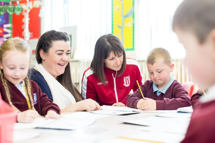 Local schools benefit from Stoke City Community Trust's involvement in Premier League Primary Stars