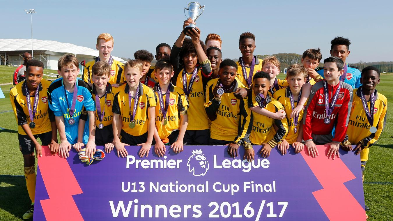 U13 National Cup: Arsenal