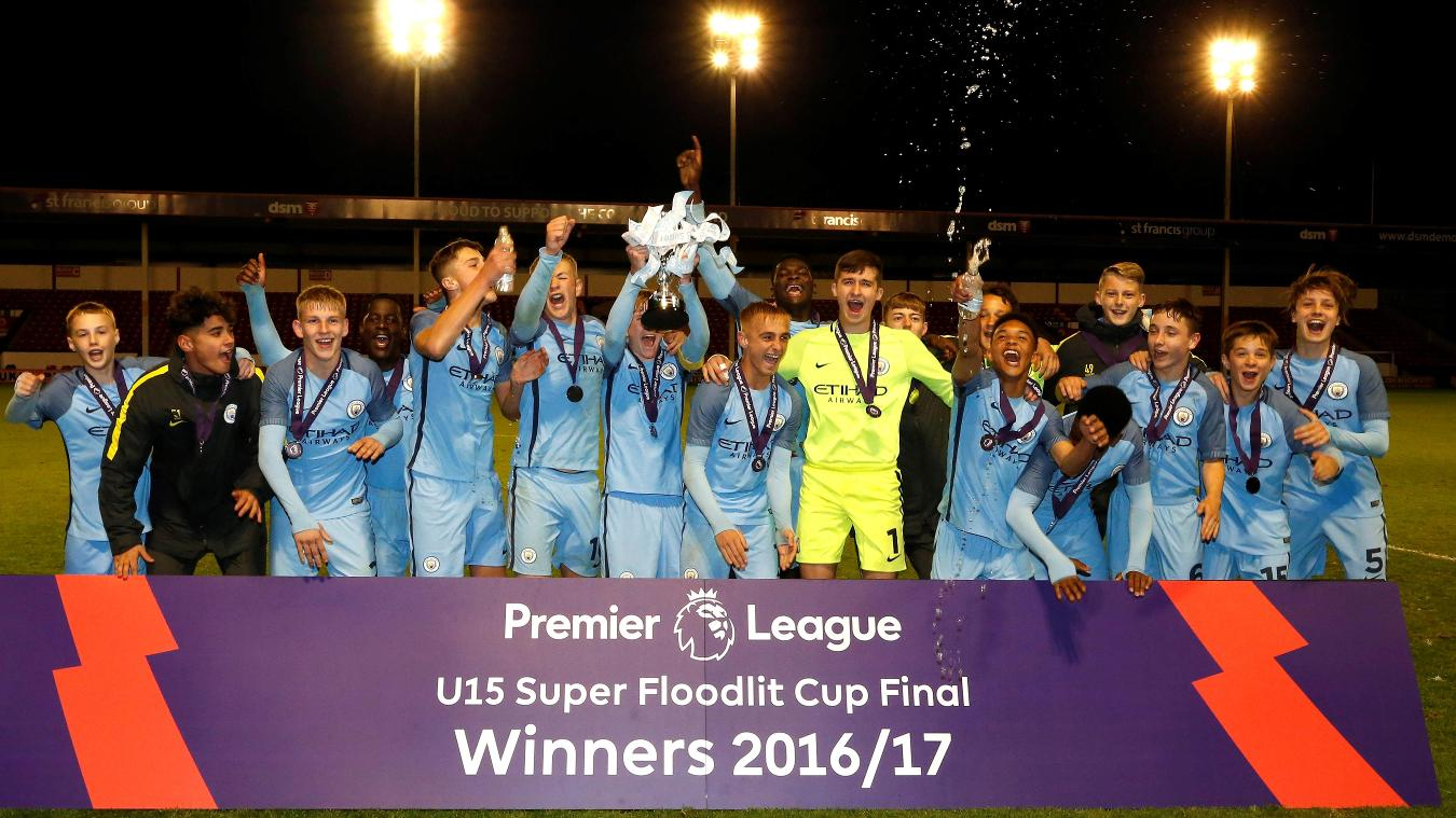 U15 Super Floodlit Cup: Man City