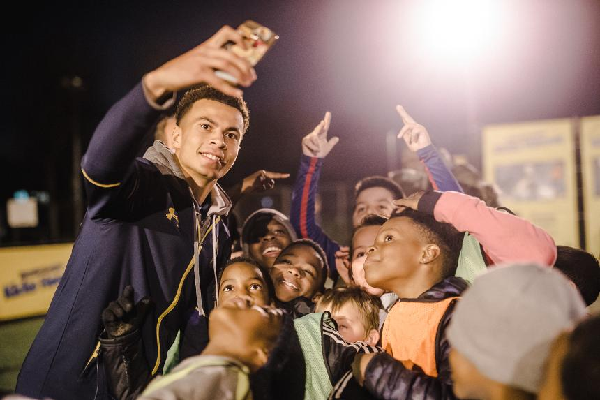 On Premier League Kicks at Tottenham's Ferry Lane, Tottenham Hotspur's Dele Alli said,
