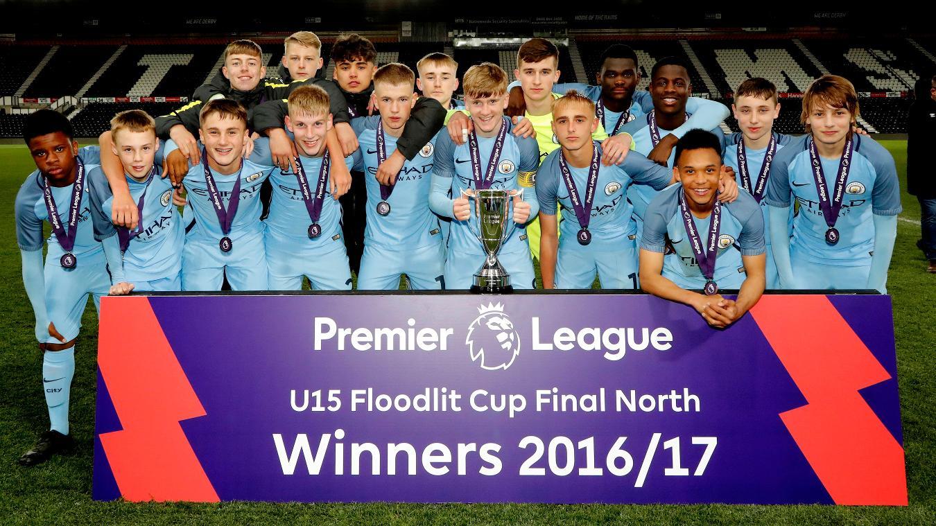 U15 Floodlit Cup North: Man City