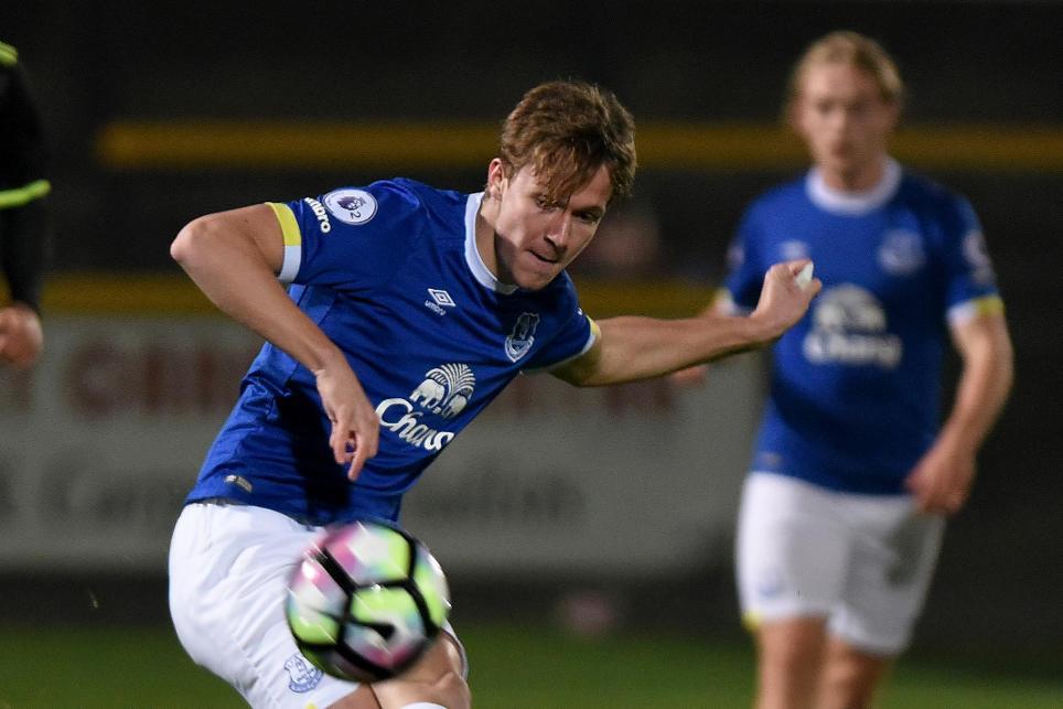 Kieran Dowell, Everton