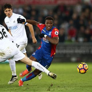 This is Premier League: Wilfried Zaha, Crystal Palace
