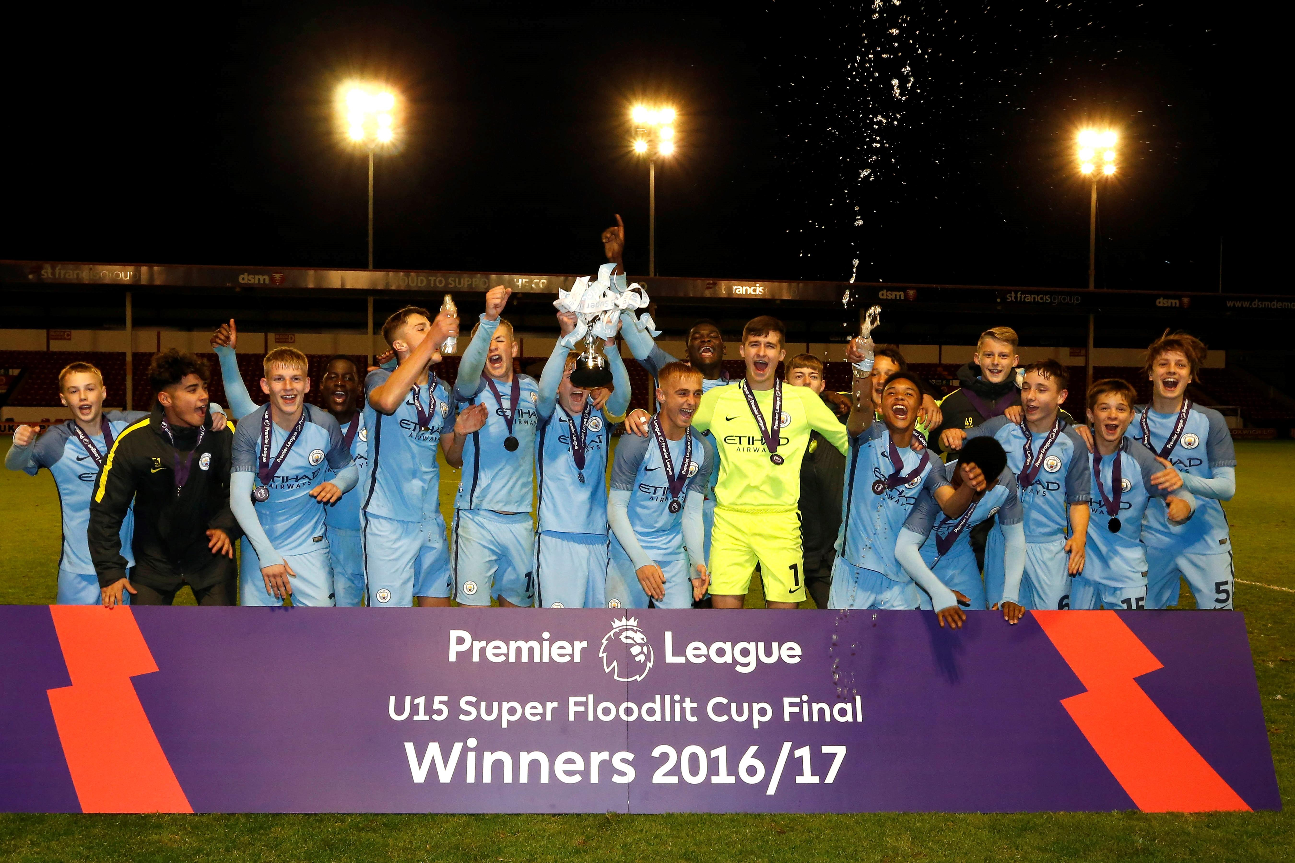 Youth development phase 2016 17 roll of honour for 06 07 premier league table