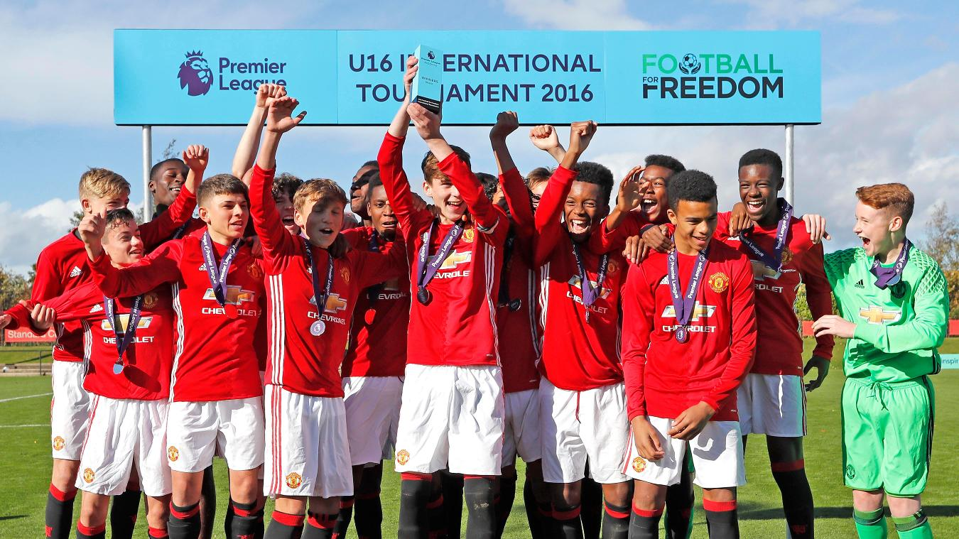 U16 International Tournament: Man Utd