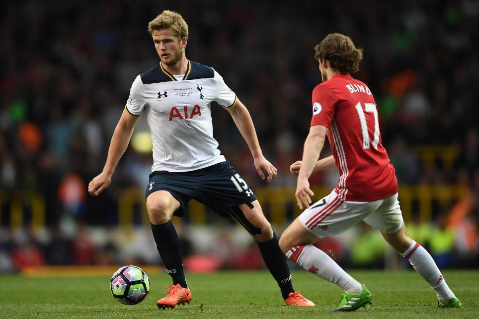 Tottenham Hotspur v Manchester United Eric Dier