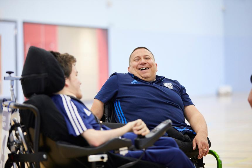 Building on the outstanding work of clubs like West Bromwich Albion, the Premier League's partnership with BT is creating more opportunities for disabled people like Paul Hunt to enjoy playing sport