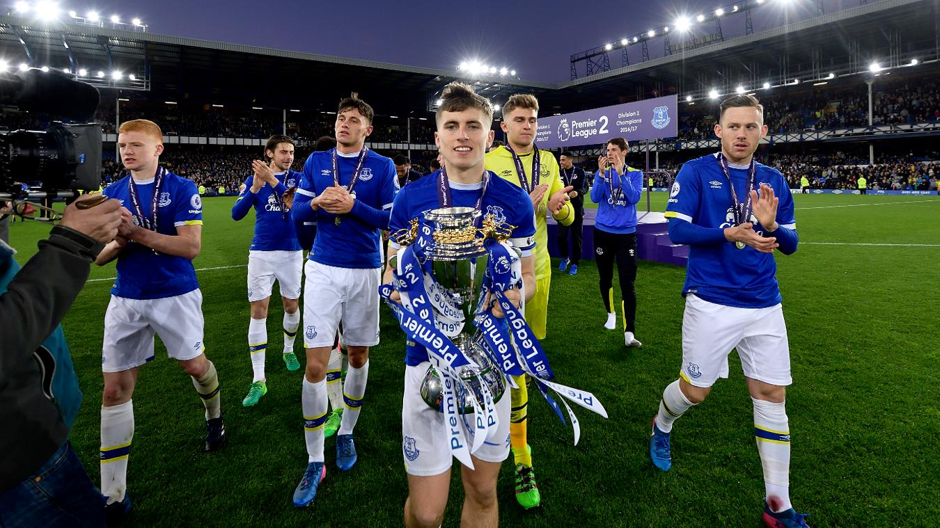 Everton PL2 trophy, Jonjoe Kenny