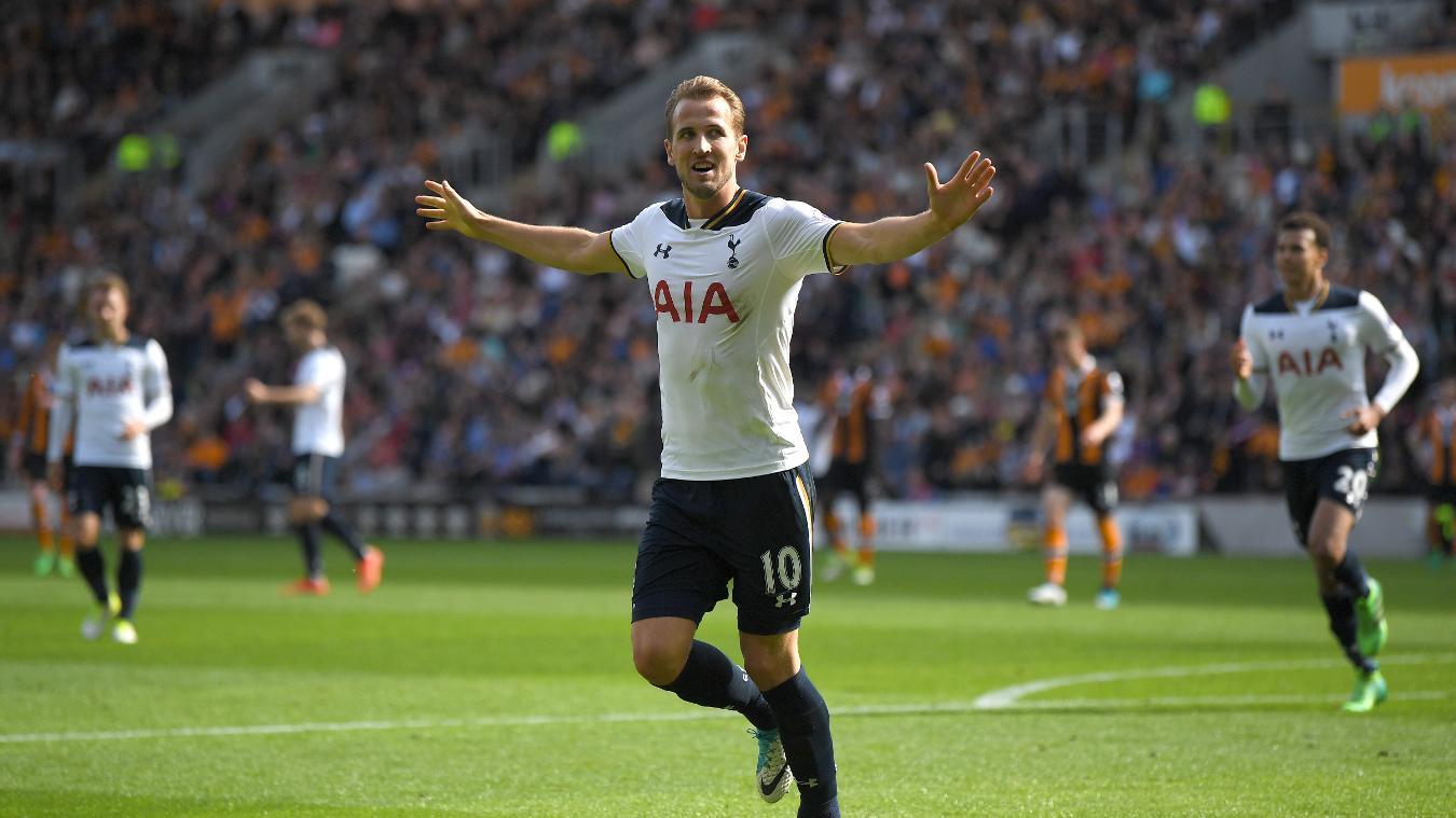Harry Kane, the 2016/17 Premier League Golden Boot winner