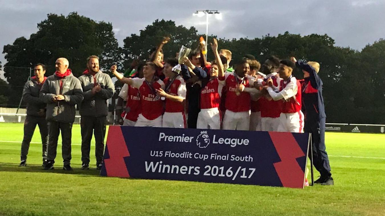 U15 Floodlit Cup South: Arsenal