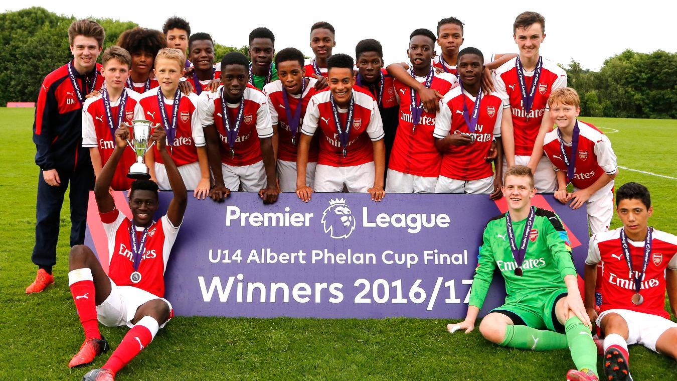 U14 Albert Phelan Cup: Arsenal