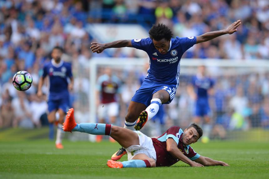 Willian, Chelsea v Burnley