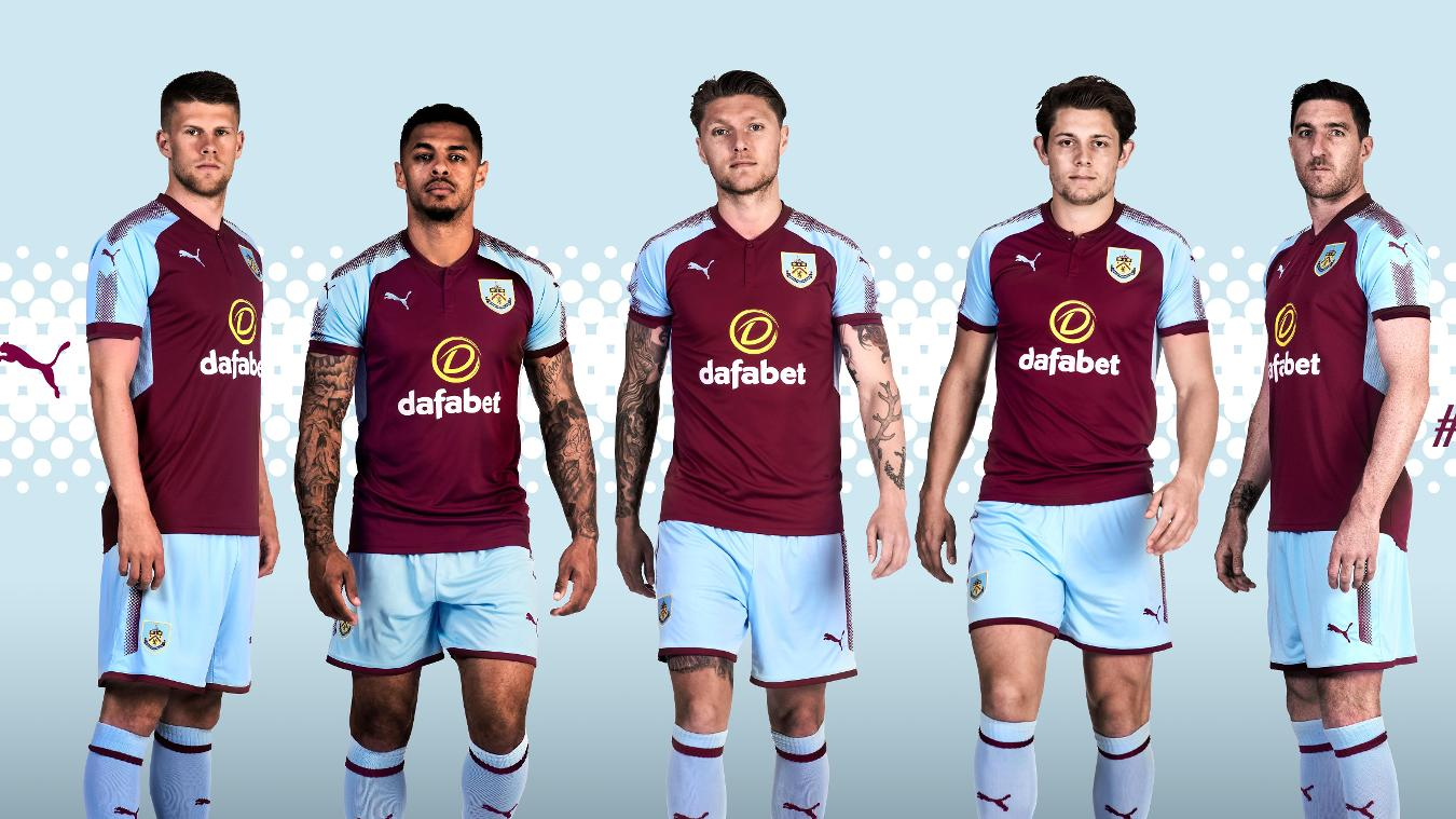 2017/18 Premier League kits: Burnley home