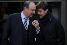 Rafael Benitez of Newcastle United and Mauricio Pochettino of Spurs.jpg