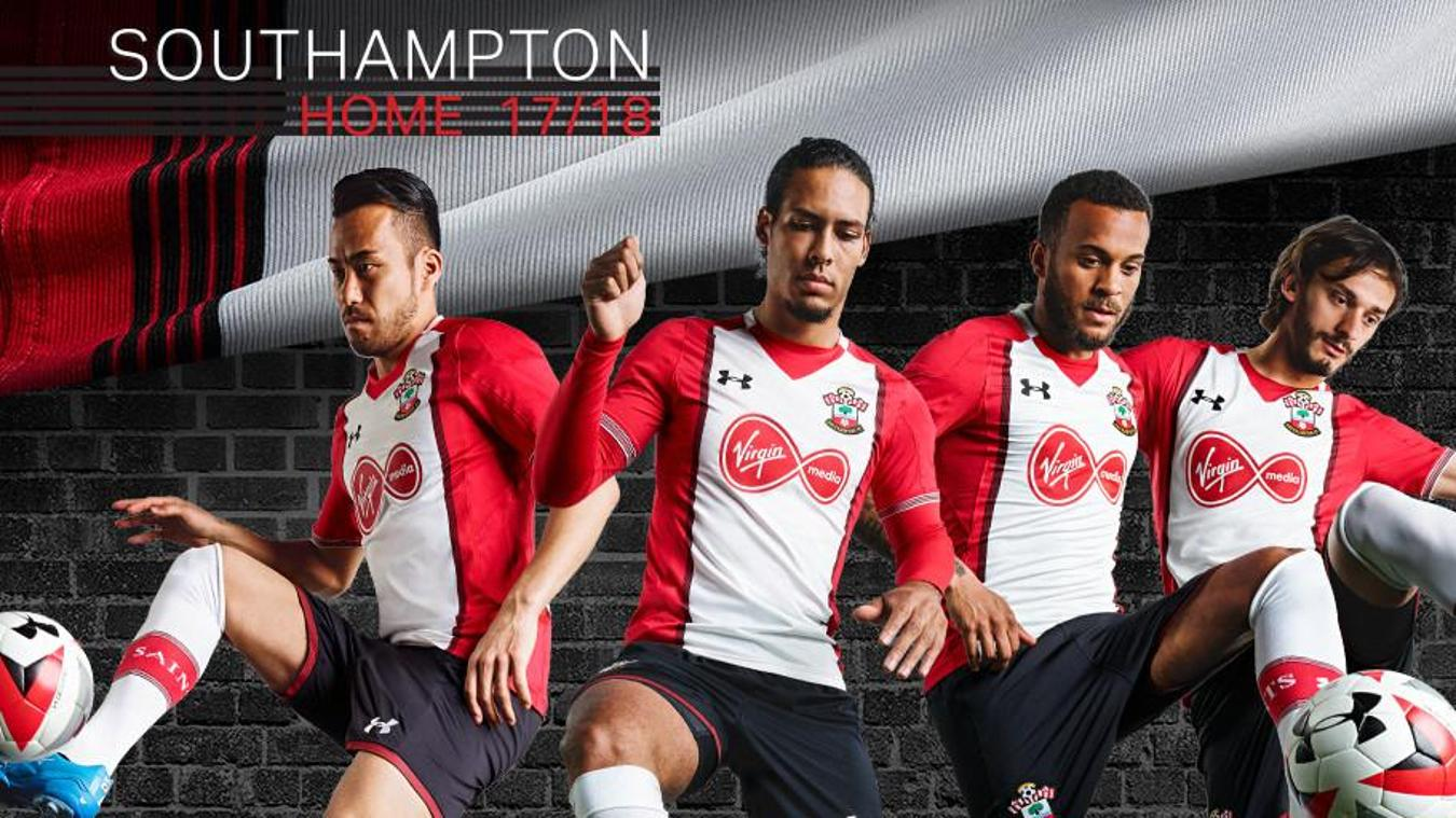 2017/18 Premier League kits: Southampton home