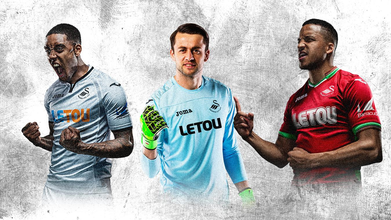 2017/18 Premier League kits: Swansea City