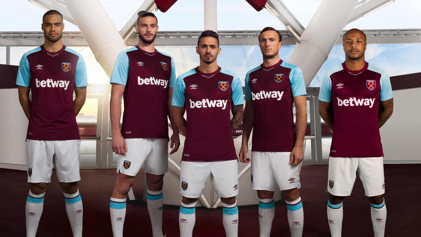 2017/18 Premier League kits: West Ham home