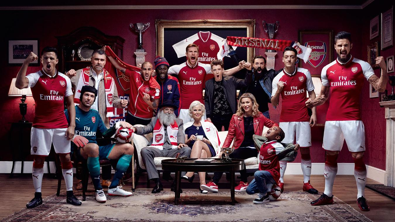 2017/18 Premier League kits: Arsenal home
