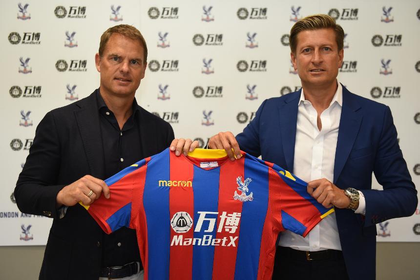 Frank De Boer and Steve Parish, Crystal Palace