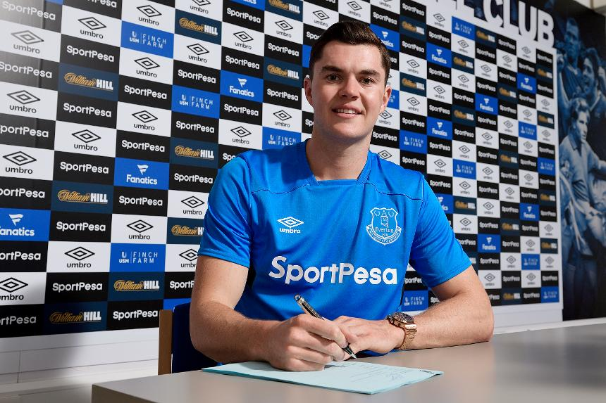 Michael Keane, Everton