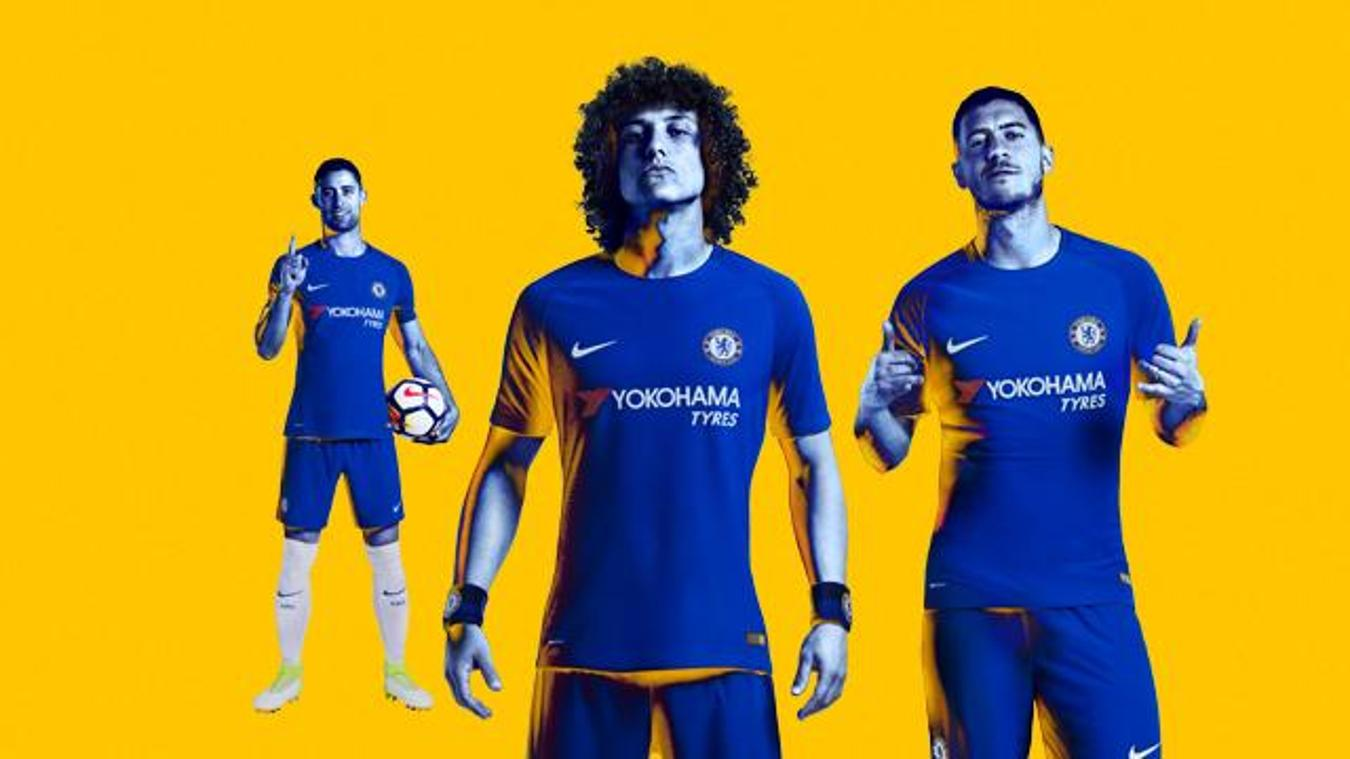 2017/18 Premier League kits: Chelsea home