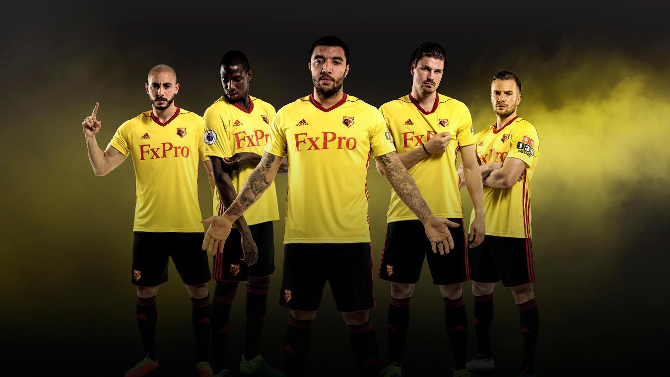 2017/18 Premier League kits: Watford home