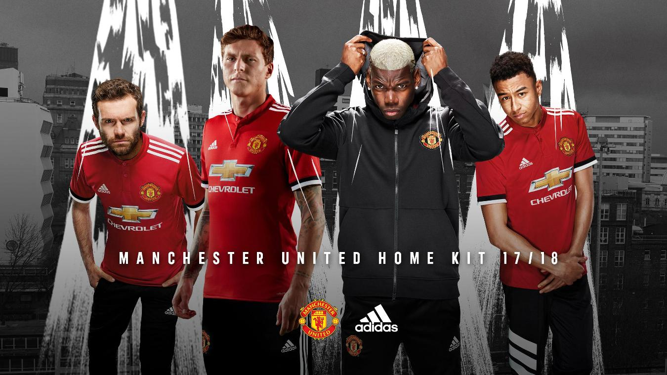 2017/18 Premier League kits: Man Utd home