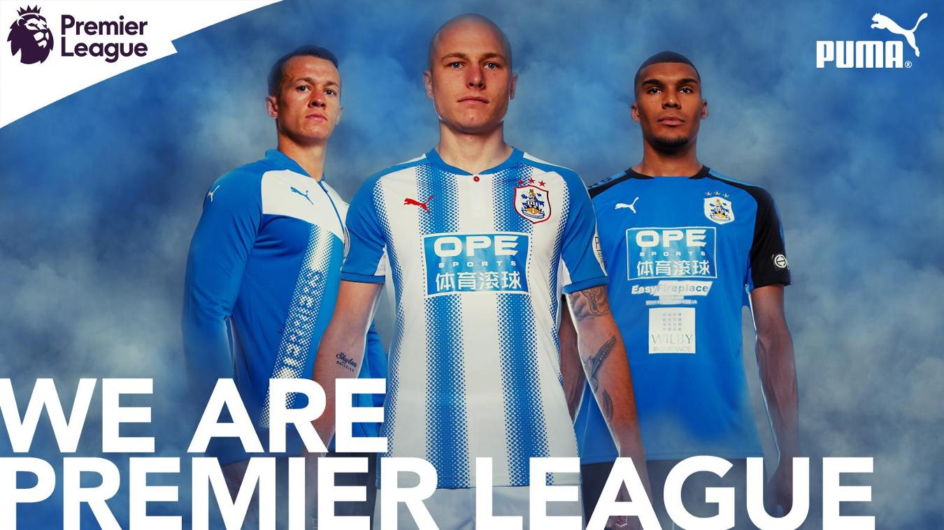 2017/18 Premier League kits: Huddersfield home