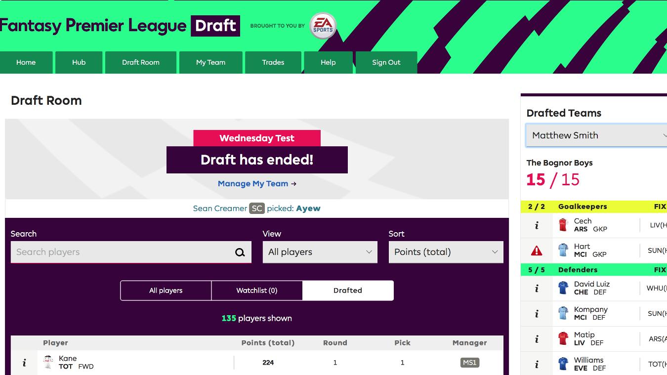 FPL Draft