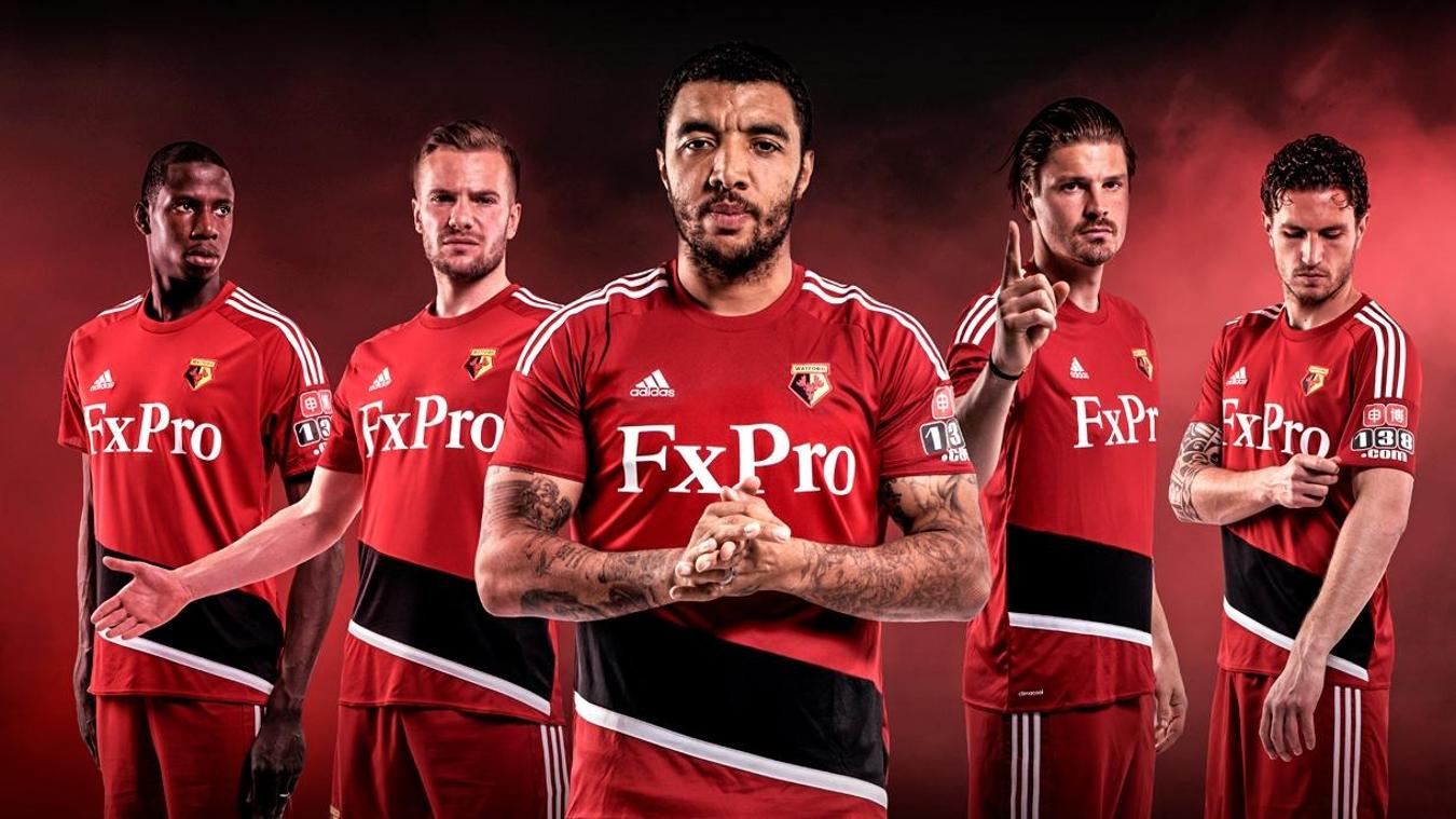 2017/18 Premier League kits: Watford away