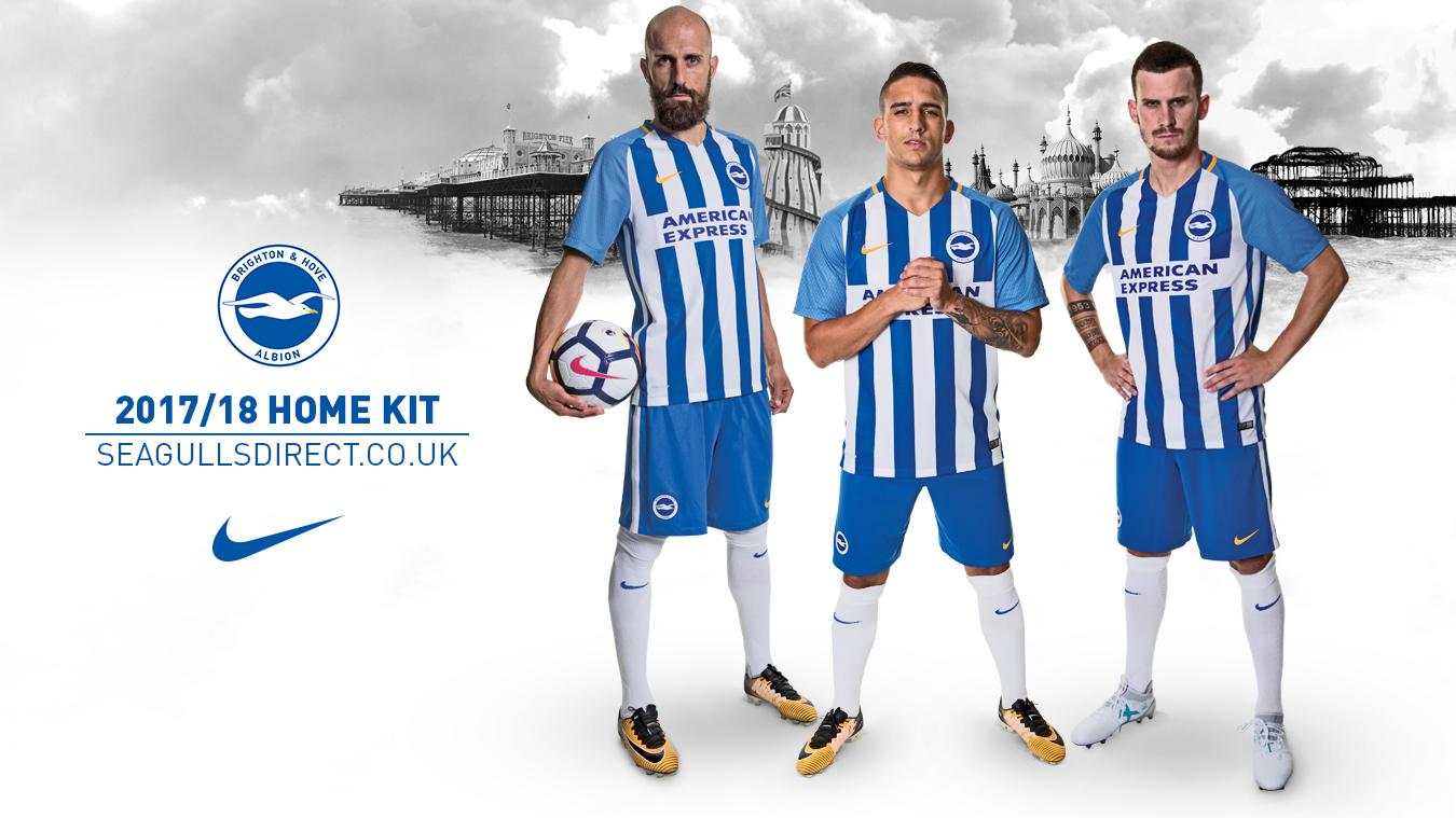 2017/18 Premier League kits: Brighton home
