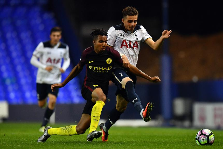 Spurs v Man City, PL2