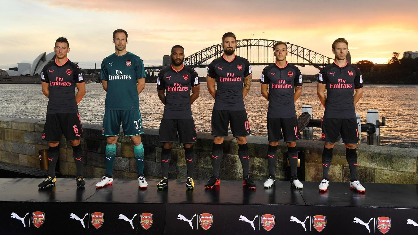 2017/18 Premier League kits: Arsenal third