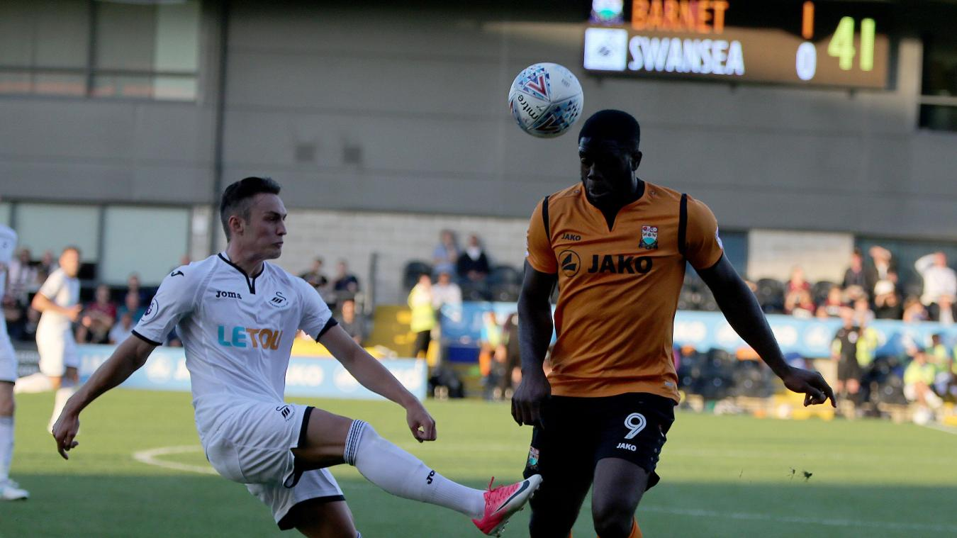 Barnet 1-0 Swansea City