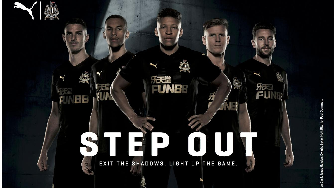 2017/18 Premier League kits: Newcastle third