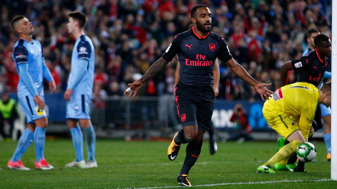 Sydney FC 0-2 Arsenal