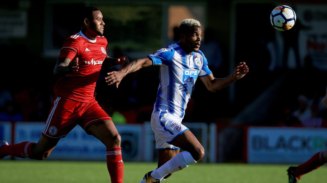 Accrington Stanley 0-1 Huddersfield Town
