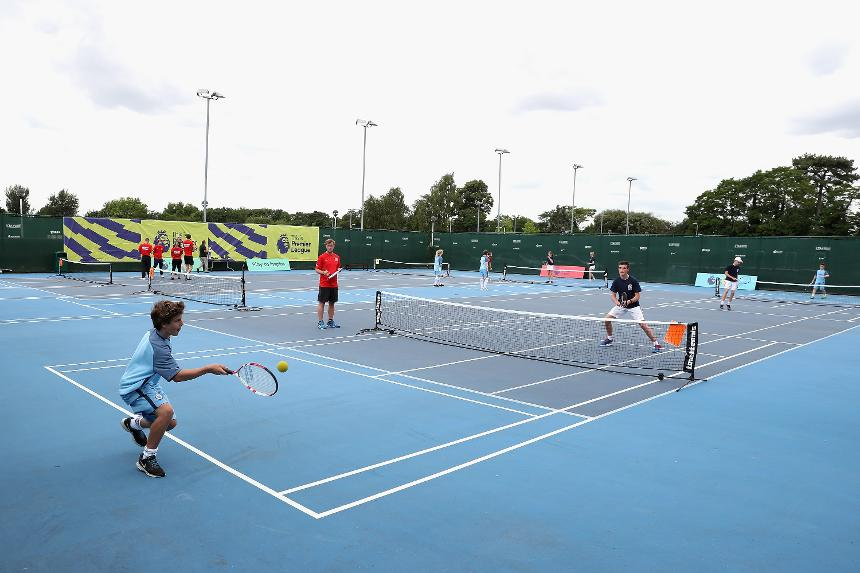 Premier League Tennis tournament final, Man City v Blackburn Rovers