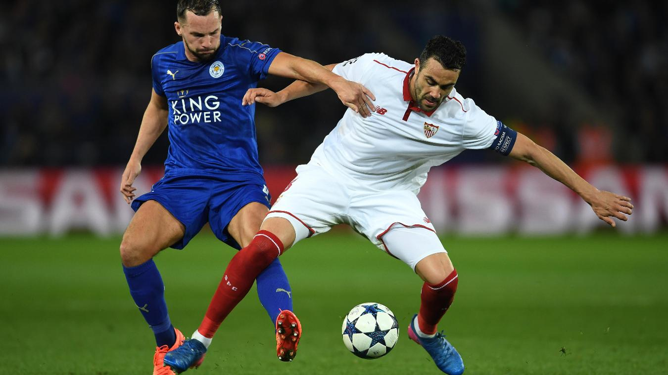 Vicente Iborra and Danny Drinkwater, Leicester City