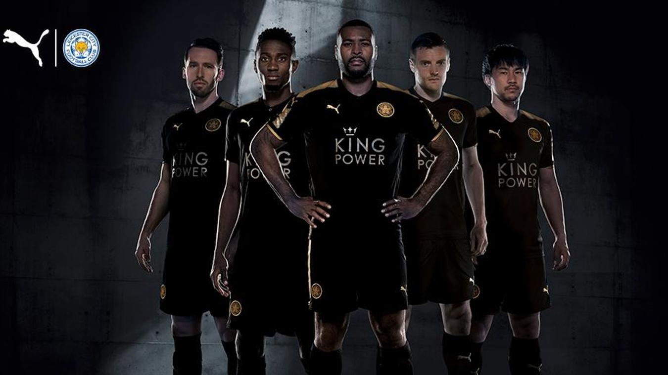 2017/18 Premier League kits: Leicester away