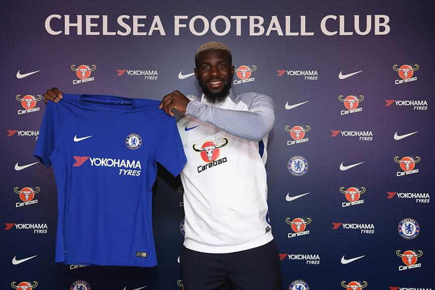 Tiemoue Bakayoko signs for Chelsea