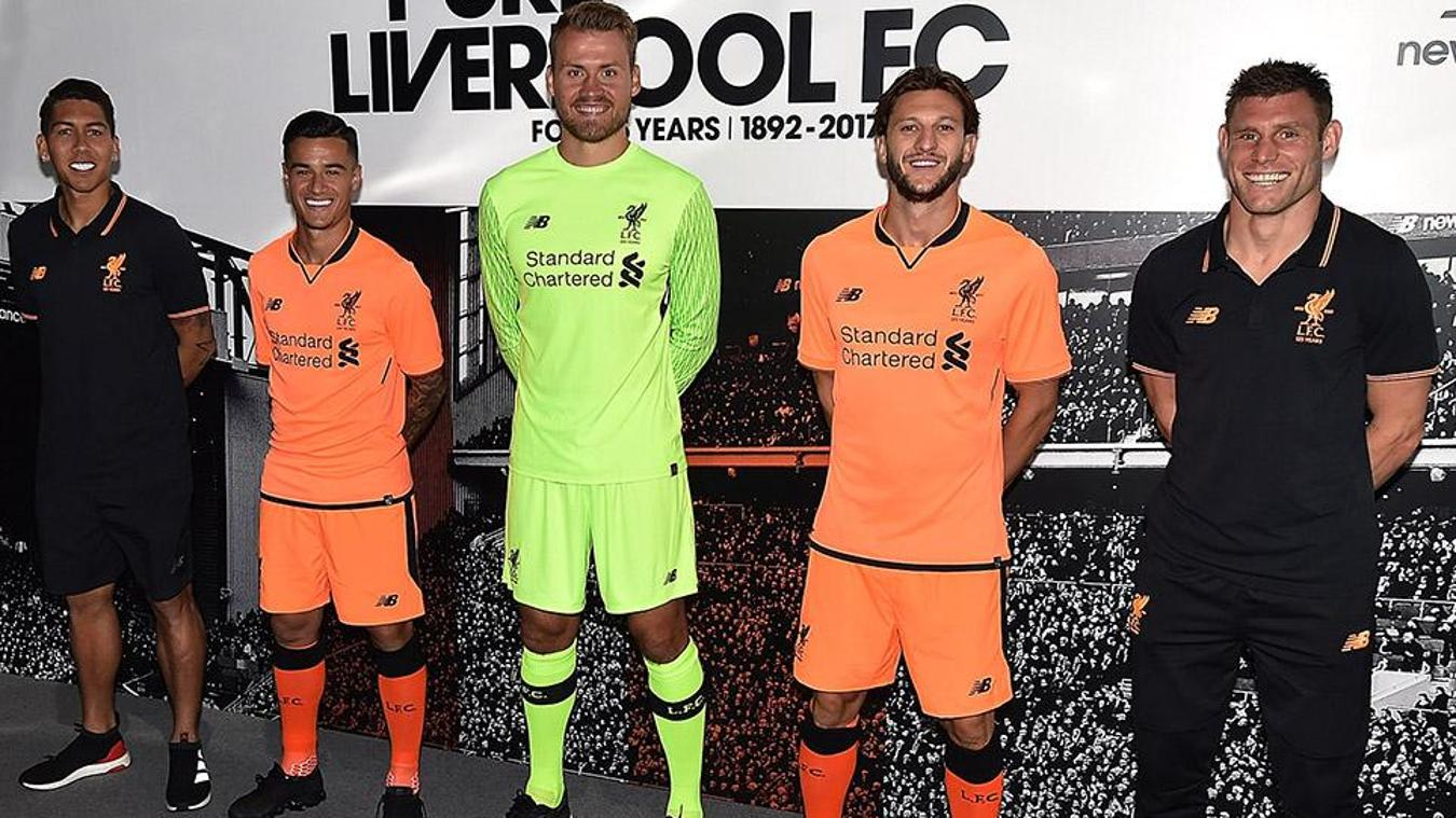 2017/18 Premier League kits: Liverpool third