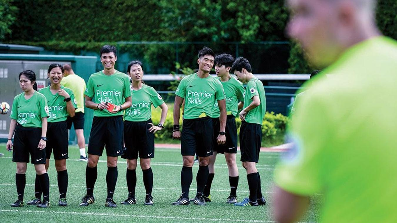 Premier Skills referee course in Hong Kong